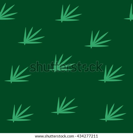 Grass green seamless pattern. Fashion graphic background design. Modern stylish abstract colorful texture. Template for prints, textiles, wrapping, wallpaper, website etc VECTOR illustration - stock vector