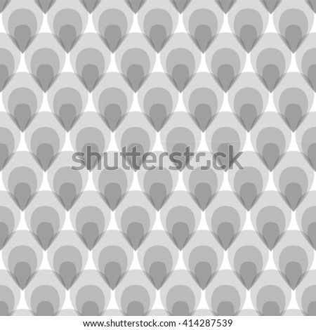 Gray and white geometric seamless pattern in modern stylish. Abstract background. Vector seamless pattern. - stock vector
