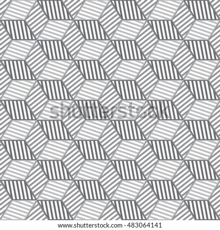 gray and white graphic pattern abstract vector background.