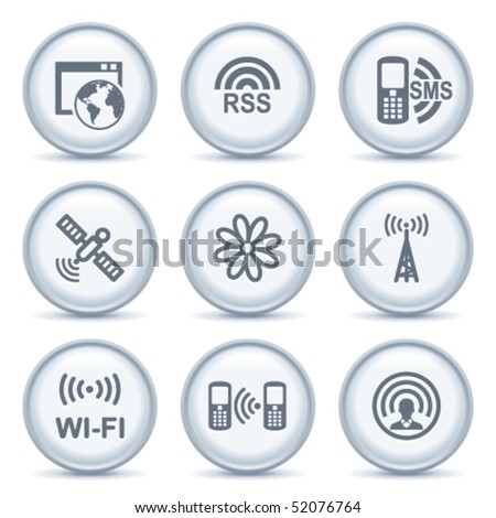 Gray button with icon 30
