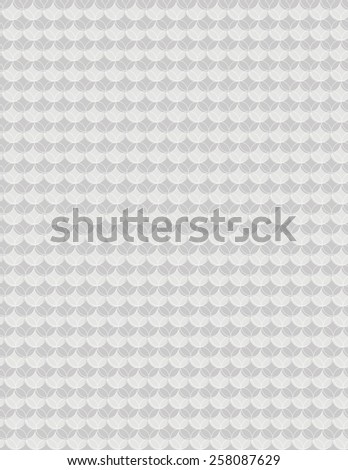Gray circle pattern with outline for use as background  - stock vector