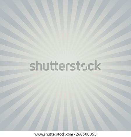Gray color burst background. Vector illustration - stock vector