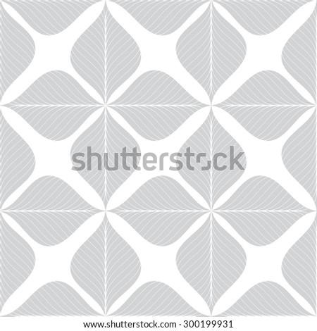 gray flower graphic pattern vector illustration . Modern stylish texture background. - stock vector