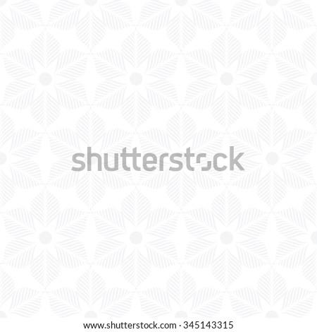 gray flower pattern, background vector. - stock vector