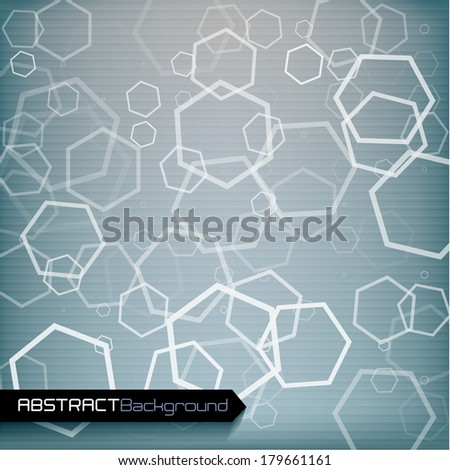Gray geometric abstract background. Vector illustration.