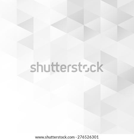 Gray Grid Mosaic Background, Creative Design Templates - stock vector