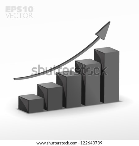 gray growth - stock vector