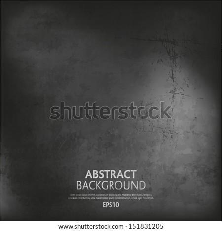 Gray Grunge background - stock vector