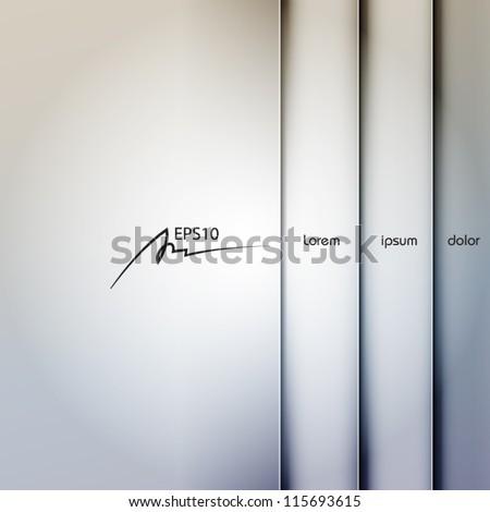 gray metal abstract vector background, web design element, vintage art banner, geometric illustration - stock vector