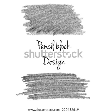 Gray soft watercolor pencil background template - stock vector