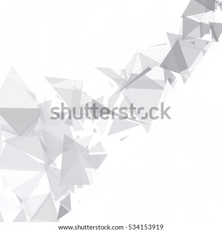Gray White Break Background, Creative Design Templates