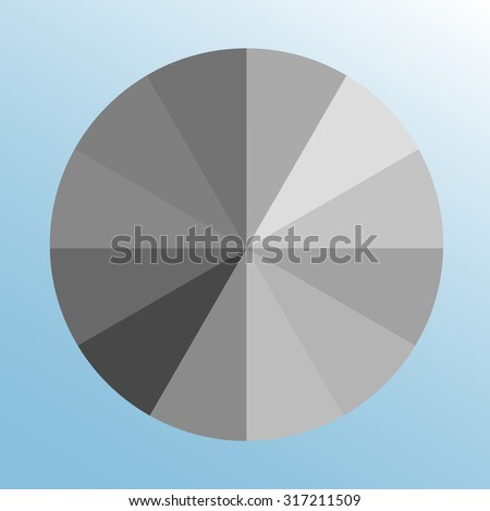 Origami club element stock vector 127412585 shutterstock for Light gray color swatch