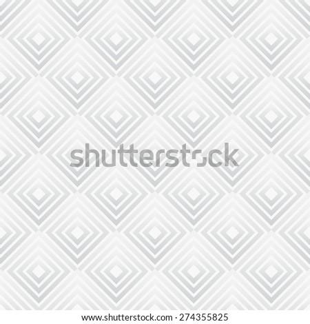 Grayscale, monochrome geometric squares pattern. - stock vector