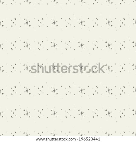 Grayscale seamless pattern, vector.
