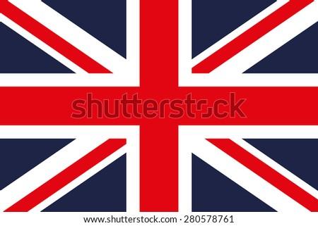Great Britain Flag - stock vector