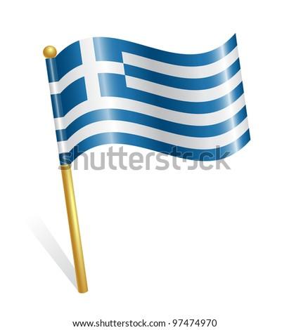 Greece Country flag - stock vector