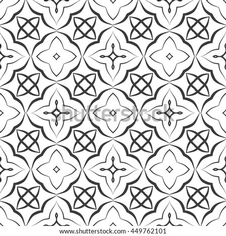 Greek church pattern seamless vector