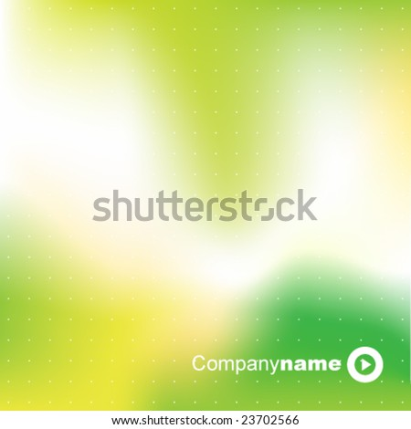 Green abstract background - trendy business website  template with copy space Contemporary texture - stock vector