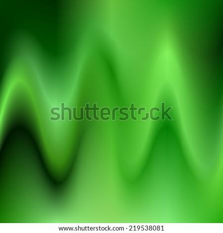 Green abstract design - stock vector