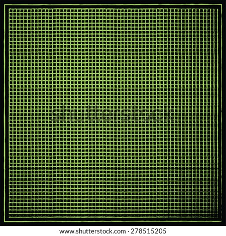 Green abstract net texture, vector - stock vector