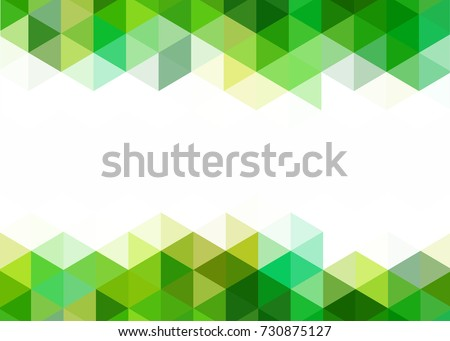 Green abstract template card banner metal em vetor stock 730875127 green abstract template for card or banner metal background with waves and reflections business reheart Images