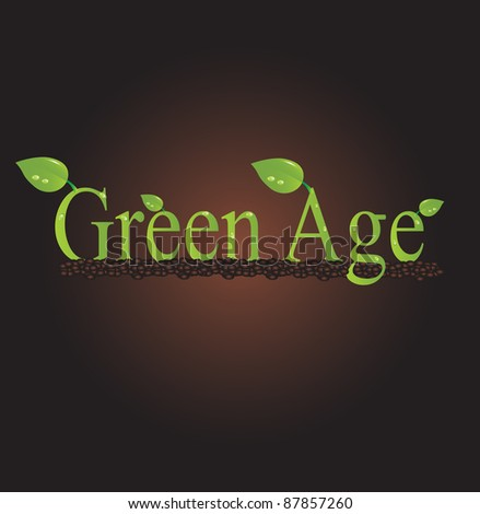 Green Age Background