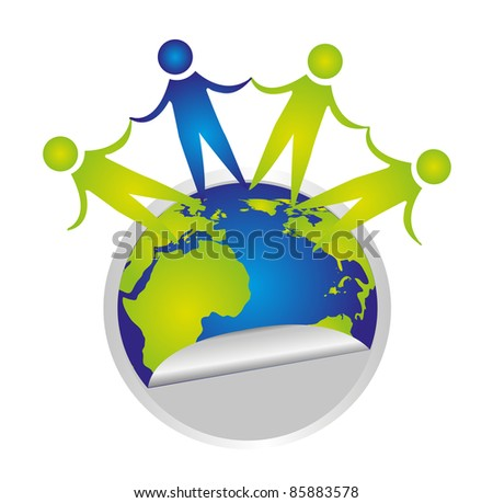Vector Big Families Around World Stock Vector 27628246 ...