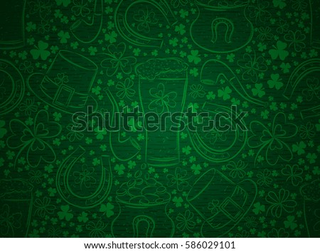stock-vector-green-background-for-patric