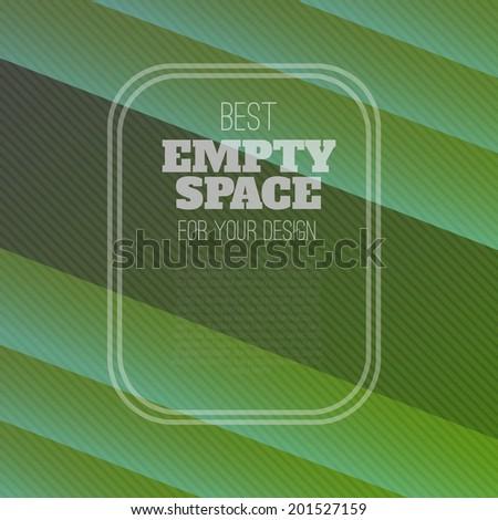 green background (vector template illustration) - stock vector