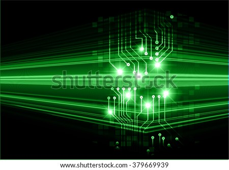green black Light Abstract Technology background for computer graphic website internet and business. circuit. illustration.digital.infographics. binary code. - stock vector