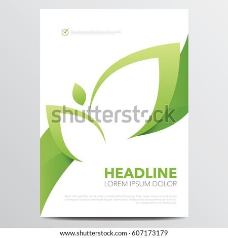 green brochure template - aperfect 39 s portfolio on shutterstock