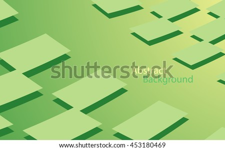 green color background abstract art vector