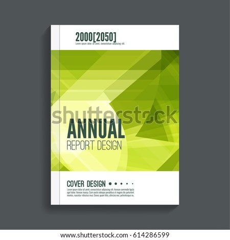 Vector Design Flyer Poster Template Your Stock Vector