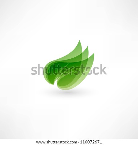 Green design - stock vector