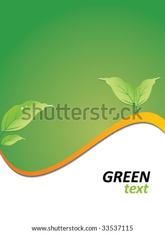 green ecology background