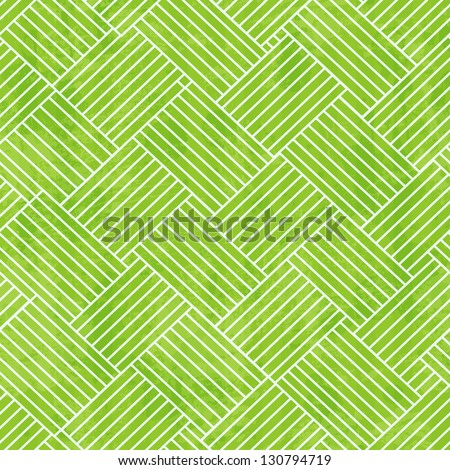 green fabric seamless texture with grunge effect - stock vector