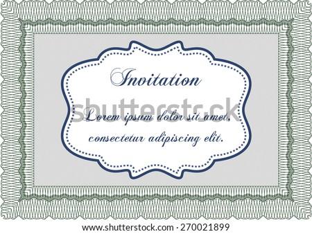 Wedding Card Invitation Floral Ornament Background Stock Illustration 281864804