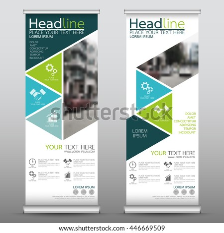 pop up brochure template - vertical banner stock images royalty free images