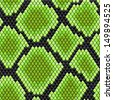 Green seamless pattern of reptile  skin for background design. Jpeg version also available in gallery - stock
