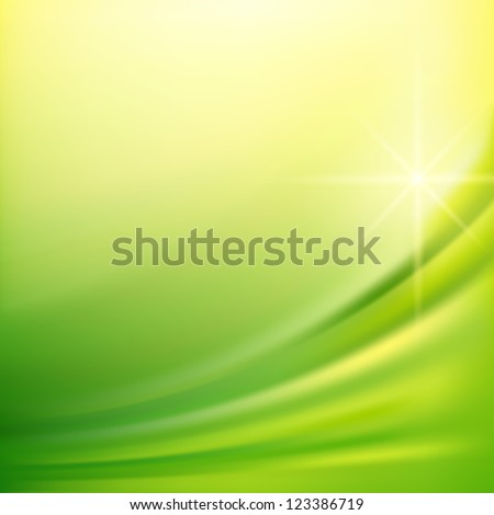 Green silk fabric for backgrounds, mesh vector illustration eps10 - stock vector