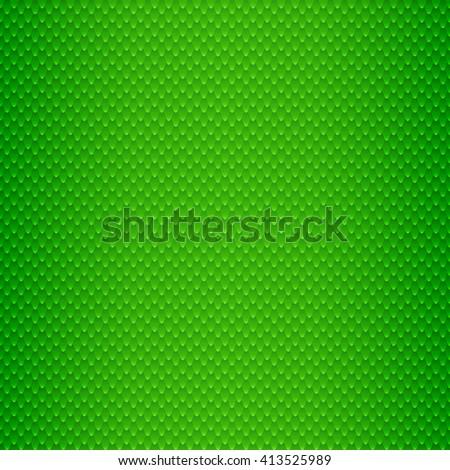 Green Snake Skin Scales Seamless Pattern Vector Illustration - stock vector