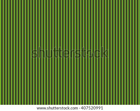 Green striped background - stock vector