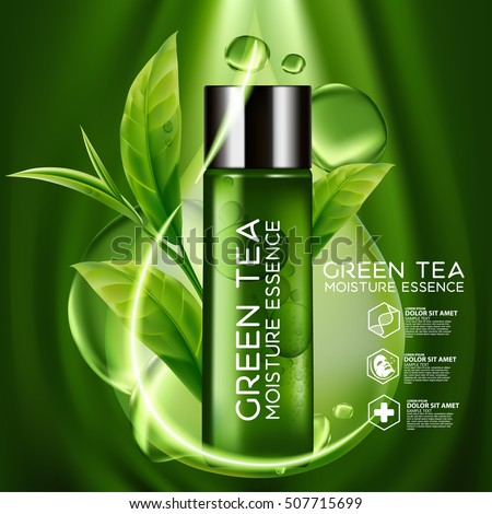 Green tea skin products