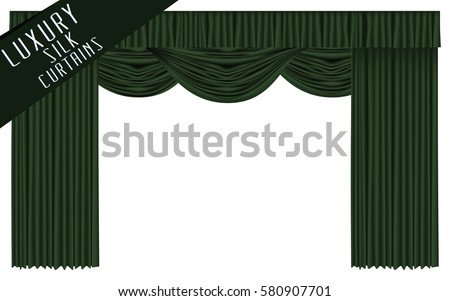 Green Curtains black green curtains : Black Stage Curtain Stock Images, Royalty-Free Images & Vectors ...