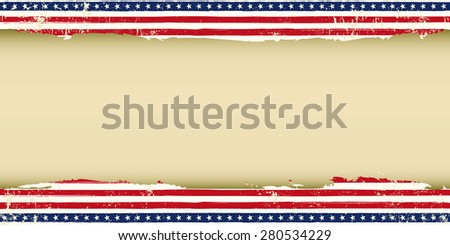 Greeting American background. A greeting American background for your publicity - stock vector