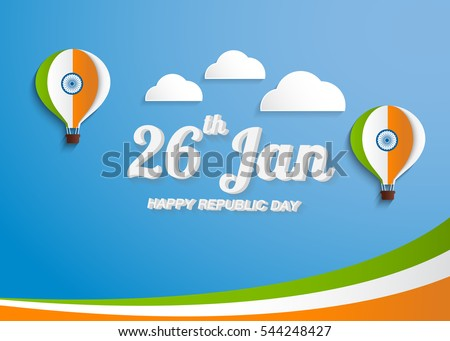Greeting card design national color text stock vector 544248427 greeting card design with national color text india on sky blue background for happy republic day m4hsunfo