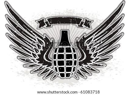 Skull Grenade Drawing Grenade