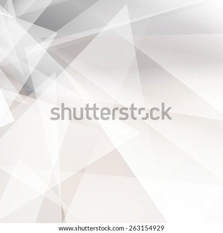 Grey abstract geometric background for design. Vector EPS10  - stock vector