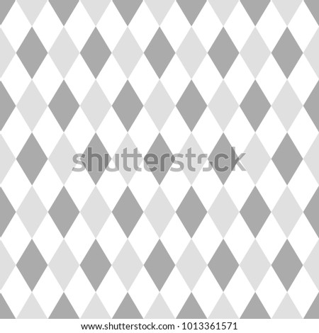 Grey Abstract Geometric Diamond Seamless Pattern Wallpaper Texture Banner Label Vector