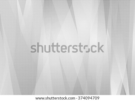Grey abstract tech striped background. Vector design illustration template - stock vector